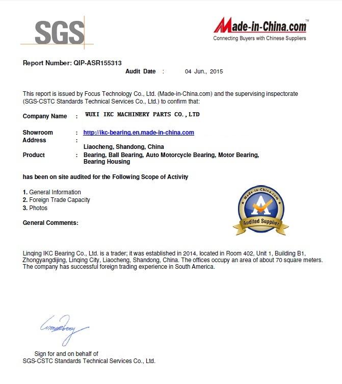 IKC Bearing Manufacturer-Wuxi IKC Machinery Parts Co ,Ltd